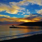 Avila Bay & Pier at Sunset